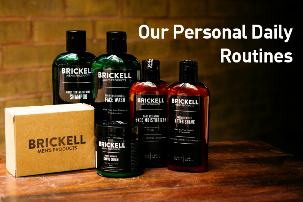 Beauty Made In America: Brickell Men's Products, High Performing Natural Skincare and Grooming Products for Men