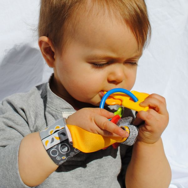 Kids Made In America: Loopy Gear, Keeps baby's toys in their hand and off the floor