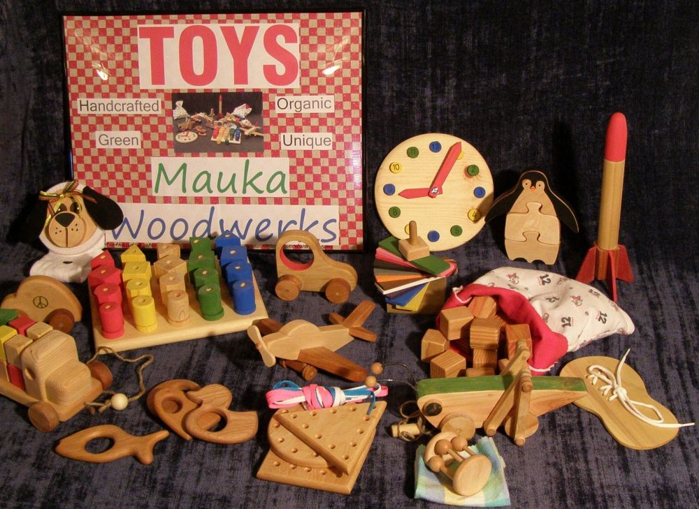 Kids Made In America: Mauka Woodworkers, Wooden Toys