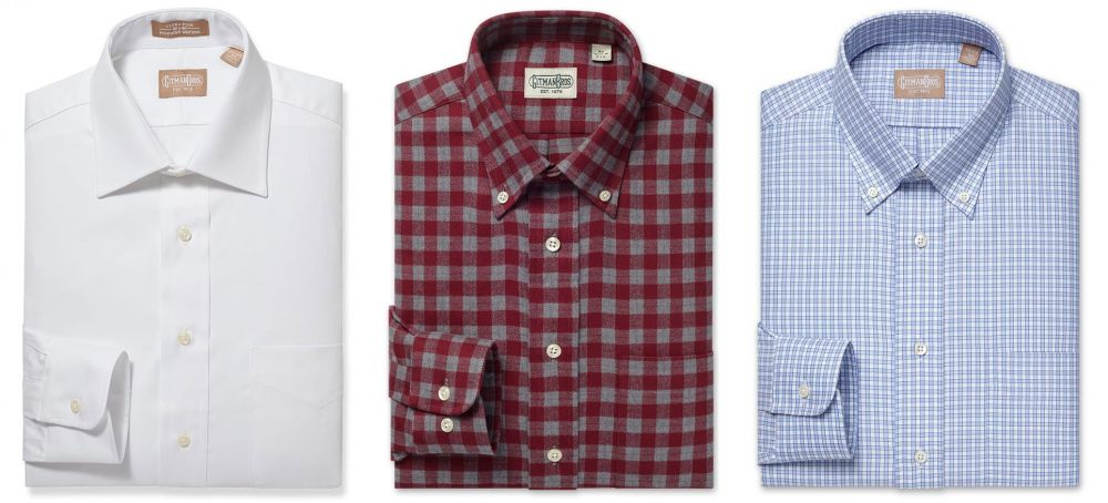 Apparel Made In America: Gitman & Company, Mens High-End Shirts and Ties
